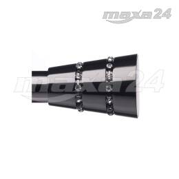 MODERNO zakonczenie Φ20mm AVERNO ONYX Vidella (2szt.)